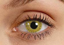 Yellow Contact Lenses